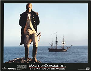 Set of Ten Original Color Lobby Cards for MASTER AND COMMANDER THE FAR SIDE OF THE WORLD