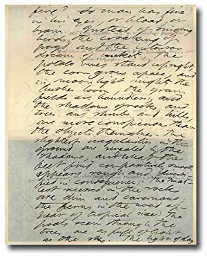 THE WRITINGS OF HENRY DAVID THOREAU [MANUSCRIPT EDITION]