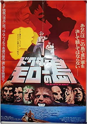 Original Japanese Publicity Poster for THE ISLAND: Wells, H. G.