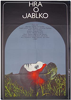 [Original Czechoslovakian Poster for:] HRA O JABLKO [THE APPLE GAME]
