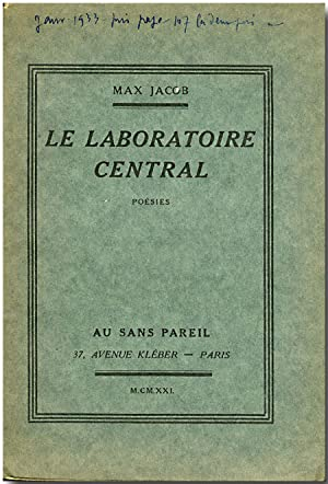 LE LABORATOIRE CENTRAL POESIES