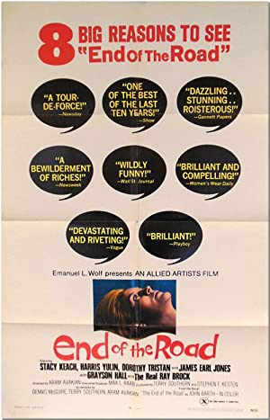 Original Studio One Sheet Publicity Poster for:]: Barth, John]: Southern,