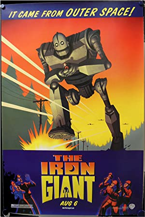 Original Advance Studio One Sheet for THE IRON GIANT