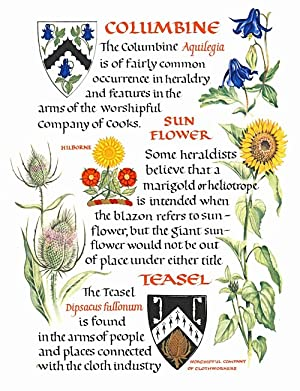 FLOWERS IN HERALDRY
