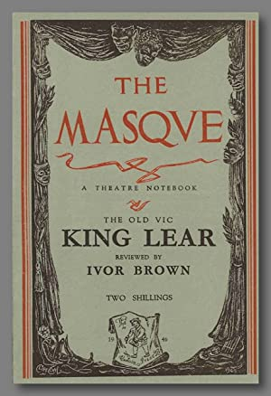 THE MASQUE A THEATRE NOTEBOOK THE OLD VIC KING LEAR REVIEWED .