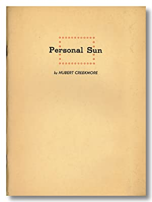PERSONAL SUN THE EARLY POEMS OF.