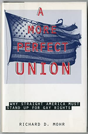 A MORE PERFECT UNION WHY STRAIGHT AMERICA MUST STAND UP FOR GAY RIGHTS