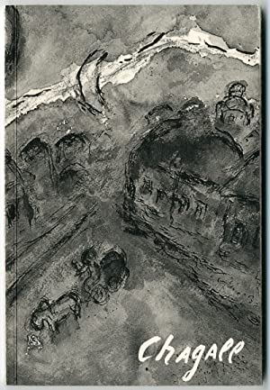 CHAGALL BLACK AND WHITE WASH-DRAWINGS OF 1976/77