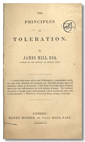 THE PRINCIPLES OF TOLERATION