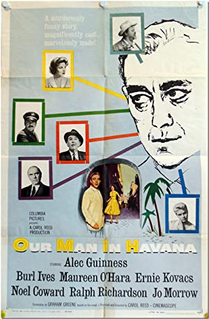 [Original One Sheet Publicity Poster for:] OUR MAN IN HAVANA