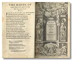 OVID'S METAMORPHOSIS Englished by G.S.