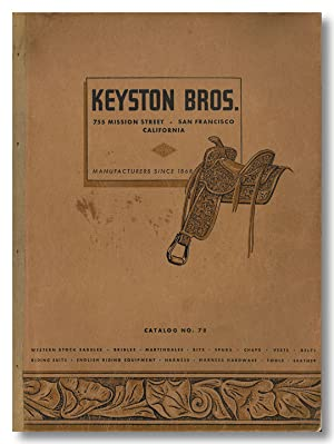 KEYSTON BROS. MANUFACTURERS AND JOBBERS ESTABLISHED 1868 . CATALOGUE NO. 78