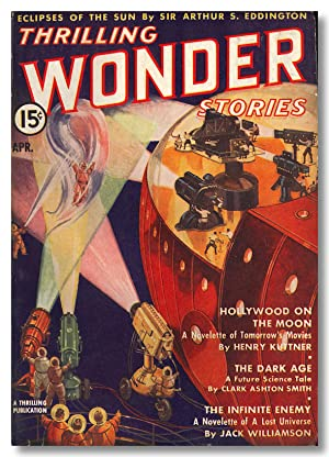 THRILLING WONDER STORIES THE MAGAZINE OF PROPHETIC FICTION