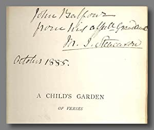 A CHILD'S GARDEN OF VERSES.: Stevenson, Robert Louis: