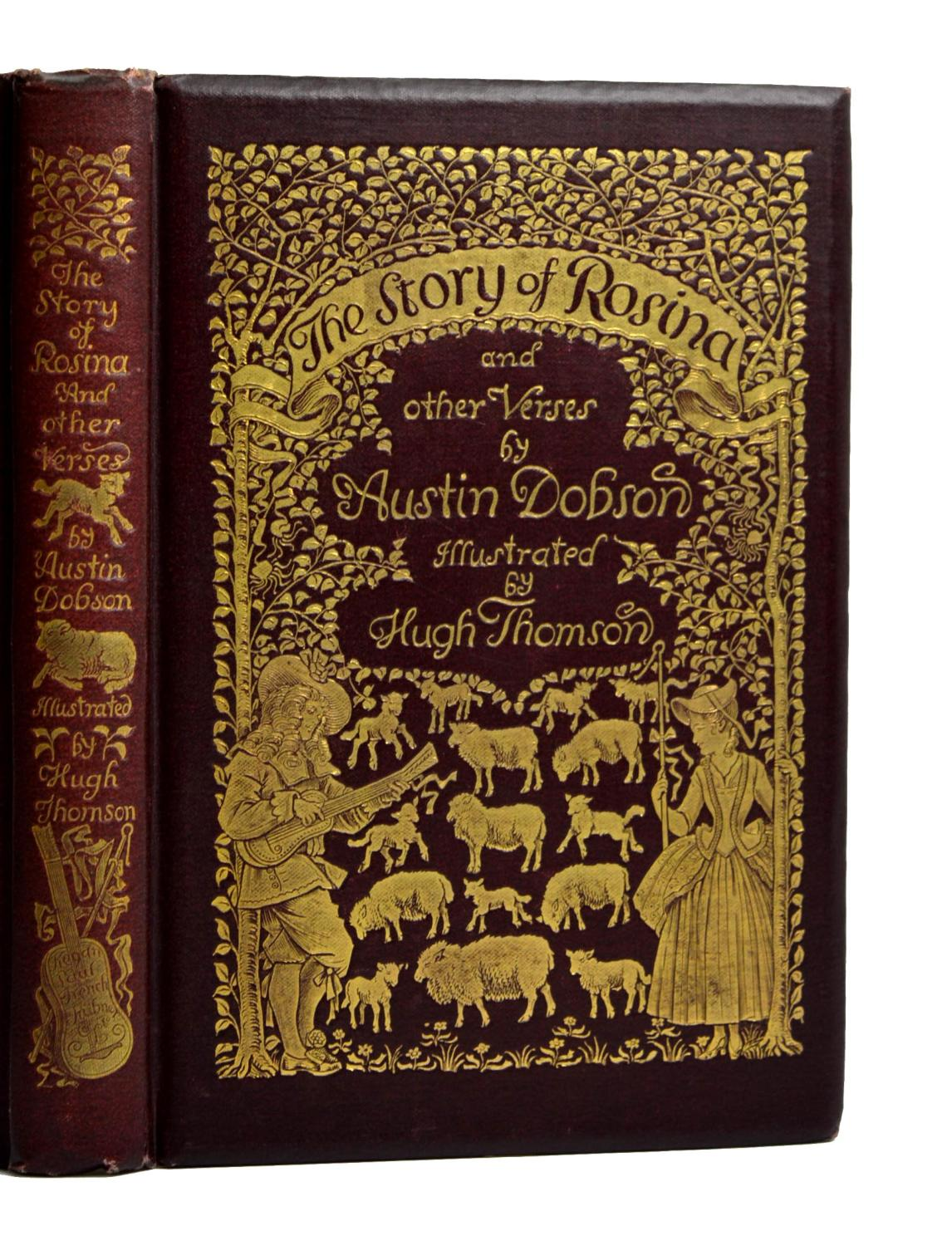 The Story Of Rosina And Other Verses Dobson, Austin Near Fine Softcover