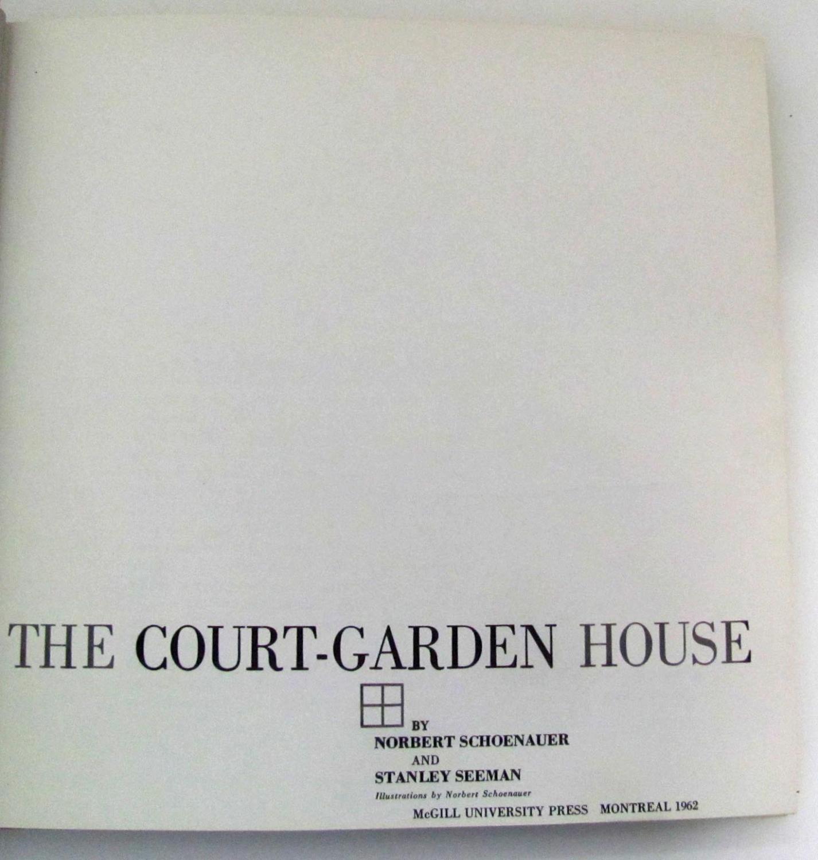 The Court Garden House By Schoenauer Norbert And Stanley Seeman Mcgill Wiring Diagram
