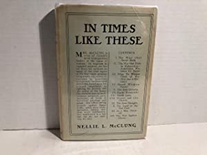 In Times Like These: McClung, Nellie