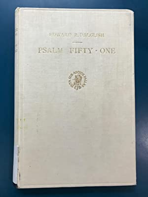 Psalm fifty-one in the light of ancient eastern patternism