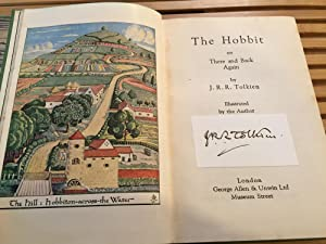 The Hobbit, UK, 6th Impression, SIGNED BY: J.R.R. Tolkien