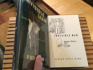 Invisible Man, First Edition, SIGNED: Ralph Ellison