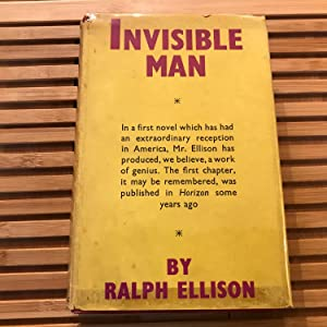 The Invisible Man, UK First Edition: Ralph Ellison