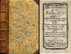 Nye og fuldstændig dansk spille-bog indeholdende rigtig: MELBYE, JOH. CHR.)