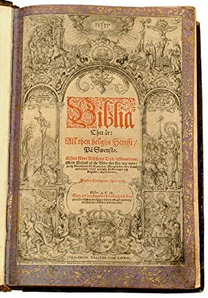 Biblia thet är: all then helgha scrifft/: Anonymous]