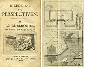 Inledning til perspectiven [An introduction to perspective].: BERONIUS, JAN M.