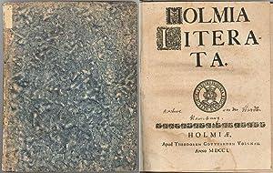 Holmia literata.: HARDT, RICHARD von
