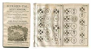 Inträdes-tal, om de mynt-sorter, som i äldre: THUNBERG, CARL PETER.