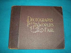 PHOTOGRAPHS OF THE WORLD'S FAIR (Columbian Exposition Salesman's Sample)