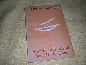 Furcht und Elend des III. Reiches -: Brecht, Bertolt