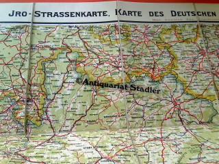 Karte Thüringen.Iro Straßenkarte Karte Des Deutschen