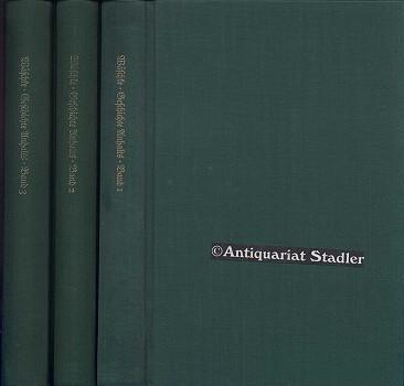Geschichte Anhalts. Anhaltische Geschichte. Band 1-3. Band 1: Geschichte Anhalts von den Anfä...