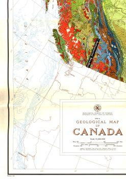Geological Map of Canada.
