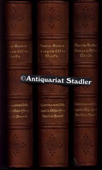 Ausgewählte Werke. Hrsg. von Hans Heinrich Borcherdt. 1.- 3 Band.: Luther, Martin.: