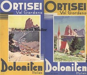 Ortisei Val Gardena. Dolomiten, Italien. Reiseprospekt.: ENIT: