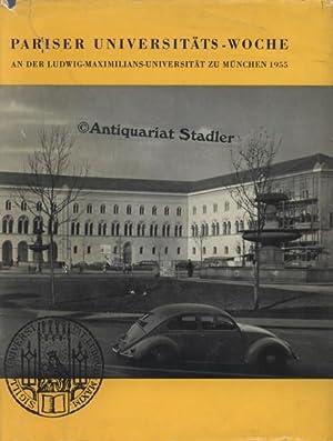 Pariser Universitäts-Woche an der Ludwig-Maximilians-Universität zu München: Marchionini, Alfred: