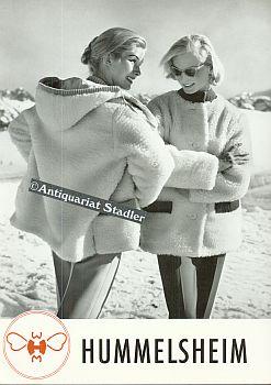 Werbeprospekt für Damenbekleidung und Sportbekleidung Herbst/Winter 1957/58.: ...