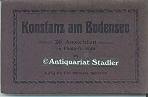Konstanz am Bodensee. 20 Ansichten in Photo-Gravure.