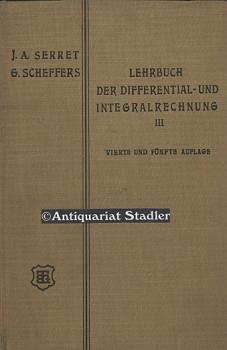 Lehrbuch der Differential- und Integralrechnung. Band 3: Differentialgleichungen u. ...