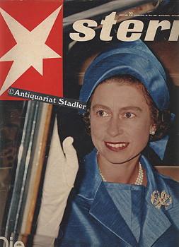 """Stern. (Illustrierte). Nr. 22 vom 30. Mai 1965. Titelthema u.a.: """"Die Königin in ..."""