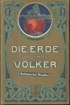 Die Erde und ihre Völker. Bd.1 und 2. Ein geographisches Hausbuch.: Hellwald, F.v.: