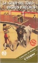 La gente del toro: dichos y hechos: José Luis de Córdoba