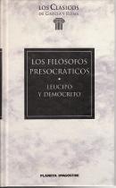 Los filosófos presocráticos: Leucipo y Demócrito