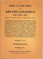Misterios de la loteria primitiva o el Gitano cabalista del siglo XIX: A. Q. R