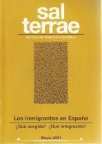 Sal Terrae, Revista de Teología Pastoral. Mayo 2001. Tomo 89/5 (n. 1045)