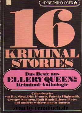 """12 Kriminalstories Das Beste aus Ellery Queens Kriminal-Anthologie, Bände Nr.: 44,52,54,60 """"ACHTUNG"""" Preis und Gewicht pro Buch"""