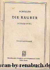 Die Räuber Schauspiel: Schiller: