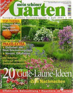 Mein schöner Garten - Juli 2005